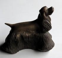 Statuette Chien Cocker Américain Bronze - Bronces
