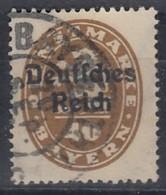 DR Dienst 39, Gestempelt, Geprüft, 1920 - Dienstzegels
