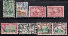 Fiji 1938 GVI Assortment - Used - Fidji (...-1970)