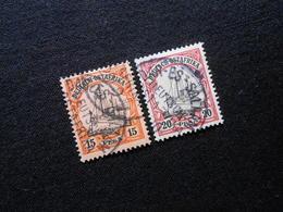 D.R.Mi 15/16  15/20P - Deutsche Kolonien ( Deutsch-Ostafrika ) 1901 - Mi 26,00 € - Kolonie: Deutsch-Ostafrika