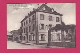 67 - NIEDERBRONN LES BAINS - HOTEL DE LA CHAINE D'OR - Niederbronn Les Bains