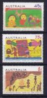 Australia: 1994   International Year Of The Family - Children's Paintings    MNH - Nuovi