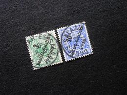 D.R.Mi 7/9 - Deutsche Kolonien ( Deutsch-Ostafrika ) 1896 - Mi 12,00 € - Kolonie: Deutsch-Ostafrika