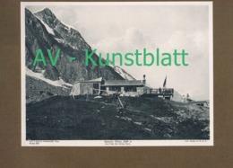 353-3 Mainzer Hütte Sektion Mainz Schwarzenberghütte Lichtdruck 1908 !! - Ohne Zuordnung