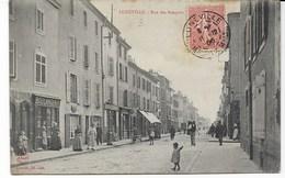 LUNEVILLE  Rue Des Bosquets - Luneville