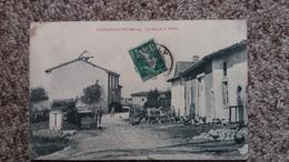 CPA VADELAINCOURT MEUSE LA MAIRIE ET LE COLE ED BERNART  OU BERUART  ? 1914 - Autres Communes