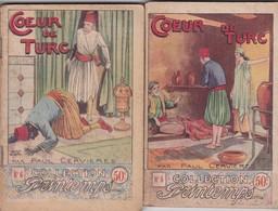 COLLECTION PRINTEMPS N° 5 Et 6 COEUR DE TURC PAR PAUL CERVIERES IMPRIMERIE DE MONTSOURIS - 1901-1940