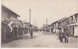 JAPON : Yokohama . Une Rue . - Yokohama