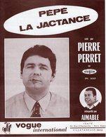 PIERRE PERRET - PEPE LA JACTANCE - 1965 - EXC ETAT COMME NEUF - - Musik & Instrumente