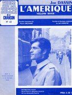 JO DASSIN - L'AMERIQUE - 1969 - EXC ETAT - Musique & Instruments