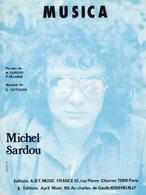 MICHEL SARDOU - MUSICA - 1981 - EXC ETAT COMME NEUF - Musique & Instruments