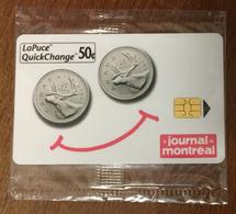 BELL CANADA PIÈCE DE 25 CENTS PHONECARD NEUVE CARD 50 CENTS QUEBEC CARTE TÉLÉPHONIQUE LAPUCE PRIVÉE - Canada