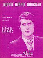 JACQUES DUTRONC - HIPPIE HIPPIE HOURRAH - 1967 - EXC ETAT COMME NEUF - Musique & Instruments