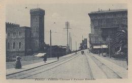 PEGLI  (GENOVA) - CASTELLO CHIOZZA E PALAZZO ROTONDO - VIAGGIATA 1916 - Genova (Genoa)