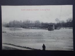 Carte Postale - St LEGER DES VIGNES (44) - Le Barrage Fermé (3922) - Otros Municipios