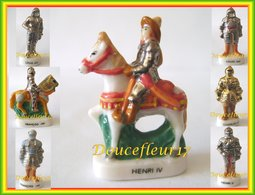 Armures Des Rois De France II . 7 Fèves ...Ref AFF : 88-2004 ..(pan 005) - Histoire