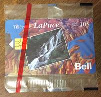CHUTE AUX RATS MONT-TREMBLANT BELL CANADA PHONECARD NEUVE CARD 10 $ QUEBEC CARTE TÉLÉPHONIQUE LAPUCE PRIVÉE - Canada