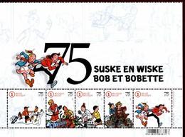 Belgique 2019 75° Anniversaire De Bob Et Bobette - Fumetti