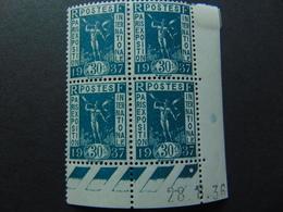 Magnifique Coin Daté Du N°. 323** De 1936 - Coins Datés