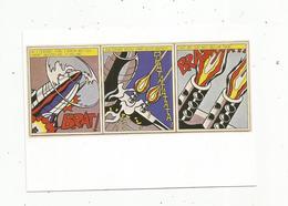 Cp, Arts , Peintures & Tableaux,  ROY LICHTENSTEIN , 1964 , Quand J'ai Ouvert Le Feu - Malerei & Gemälde
