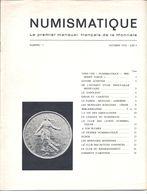 RARISSIME Les 47 Premiers N° De NUMISMATIQUE ET CHANGE - Literatur & Software