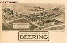 CROIX-WASQUEHAL USINES DEERING MACHINES AGRICOLES ET FICELLE 59 - Francia