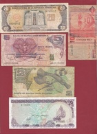 Iles Du Monde 10 Billets Dans L 'état - Billets