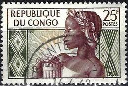 Congo (Braz) 1959 - Mi 1 - YT 135 ( Anniversary Of The Republic ) - Congo - Brazzaville