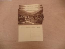 """Lot 10 CPA LOS PIRINEOS - Vallé De Aran - Camino Del Valle """" Photos Cartes Postales Sépia - Other"""