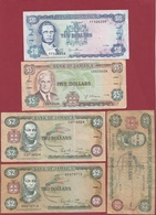 Jamaique 10  Billets Dans L 'état - Jamaique