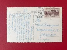 France N°939 Seul Sur CP Pour La Suède 1953 - (B3237) - Storia Postale