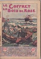 COLLECTION PRINTEMPS N° 55 LE COFFRET EN BOIS DE ROSE IMPRIMERIE DE MONTSOURIS - 1901-1940