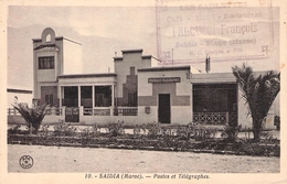 SAIDIA (MAROC) - POSTES ET TÉLÉGRAPHES Ca 1930 /ak516 - Marocco