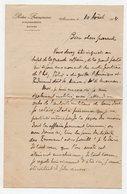 LETTRE  DE 1914 - WWI - ECRITE PAR UN FUTUR POILU TRAVAILLANT A LA POSTE FRANCAISE D'ALEXANDRIE - EGYPTE - Marcophilie (Lettres)