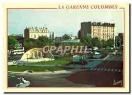 CPM La Garenne Colombes Place De Belgique - La Garenne Colombes