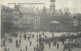 Mons 1909 - Souvenir Du Congrès Des Bouchers (carte Rare) - Mons