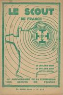 """Revue """"LE SCOUT DE FRANCE"""" N° 115 - 15.07.1930. - Scouting"""