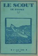 """Revue """"LE SCOUT DE FRANCE"""" N° 116 - 01.08.1930. - Scouting"""