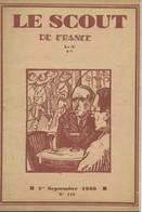 """Revue """"LE SCOUT DE FRANCE"""" N° 117 - 01.09.1930. - Scouting"""