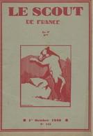 """Revue """"LE SCOUT DE FRANCE"""" N° 118 - 01.10.1930. - Scouting"""