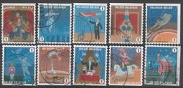 3929/3938 Le Cirque /Cirkus Oblit/gestp - Belgio