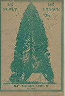"""Revue """"LE SCOUT DE FRANCE"""" N° 120 - 15.10.1930. - Scouting"""
