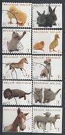 4004/4013 Animaux  / Huisdieren Oblit/gestp - Belgio