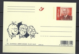 België    Postkaarten   Stripfiguren    Gil Jourdan  &  Guus Slim - Postkaarten [1951-..]