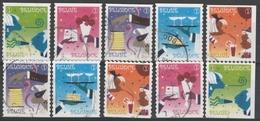 4037/4041A Timbres De Féte /feestzegels Oblit/gestp - Belgio