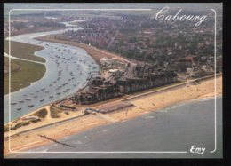 CPM Neuve 14 CABOURG Vue Aérienne De La Plage De L'embouchure De La Dives Et Cap Cabourg - Cabourg