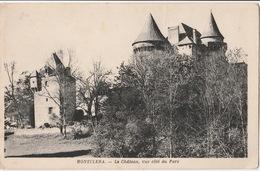 Montclera- Chateau Vue Cote Du Parc - France