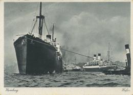 SHIPPING - HAMBURG - HAFEN T428 - Altri