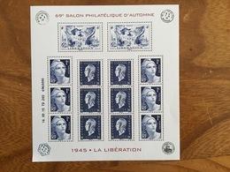 Bloc Salon Philatélique D'automne 2015 1945 LA LIBÉRATION Y&T F4986 - Neufs ** - Neufs