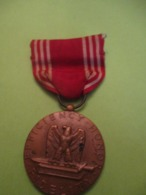 Médaille De Bon Conducteur /  Good Conduct Medal  /U.S.A. / Vers 1960             MED350 - USA